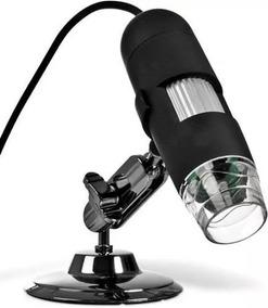 2 Microscópios Digital Usb Zoom 1000x Camera 2.0 Mp Placa Pc