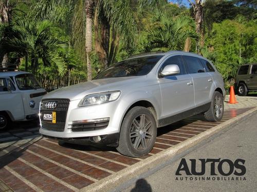 Audi Q7 Quattro  At Sec 4x4 7puestos Cc3600