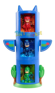 Pj Masks Set Transformable Cat Boy Gecko Ululette Muñeco