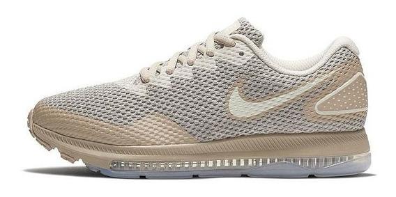 Tênis Feminino De Corrida Nike Zoom All Out Low 2 Bege Origi