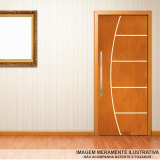 Porta De Madeira Pintada Frisada 70x210 - Envio Imediato