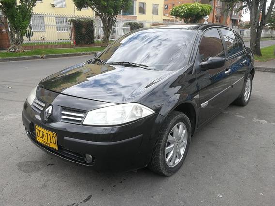 Renault Megane Ii Odeon Mt2000cc Negro Nacarado Aa Abs Dh Ab