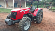 Trator Massey Fergusson 4275 4lm 4x4 2014 C/red Velocidade
