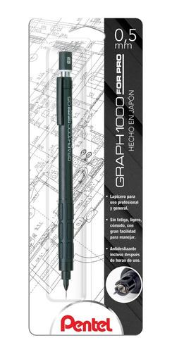 Imagen 1 de 4 de Lapicero Profesional Graphgear 1000 Negro Blíster 1-pg1005bp