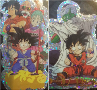 Stikers De Dragon Ball X 2 Unidades Coleccion