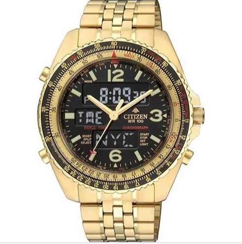 Relógio Citizen Promaster Wingman Vi Jq8003-51e Tz10075z Original Dourado