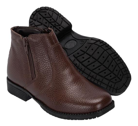 Botina Infantil Atrpn Shoes Kids Marrom