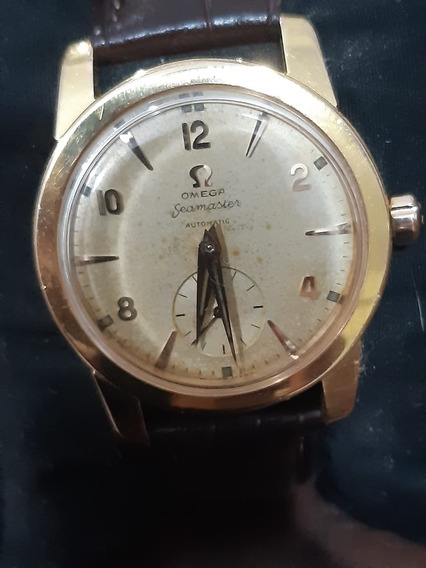Relógio Omega Seamaster Ouro Maciço