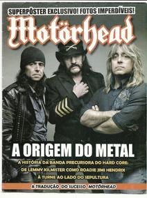 Motorhead - Revista Pôster - Ótimo Estado - Rara