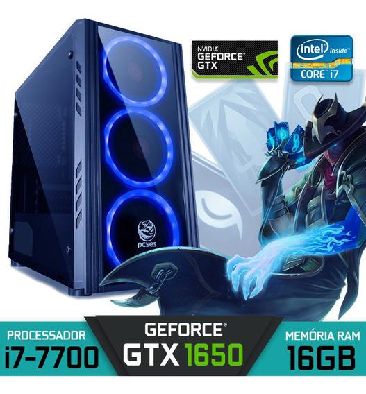 Pc Gamer Intel Core I7-7700 Ram 16gb Gtx 1650 Hd 1tb Win 10