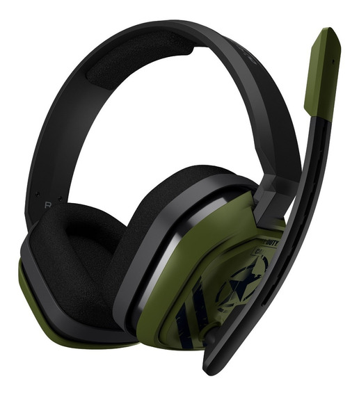 Headset Logitech Astro Gaming A10 Call Of Duty Edition P/ Pc