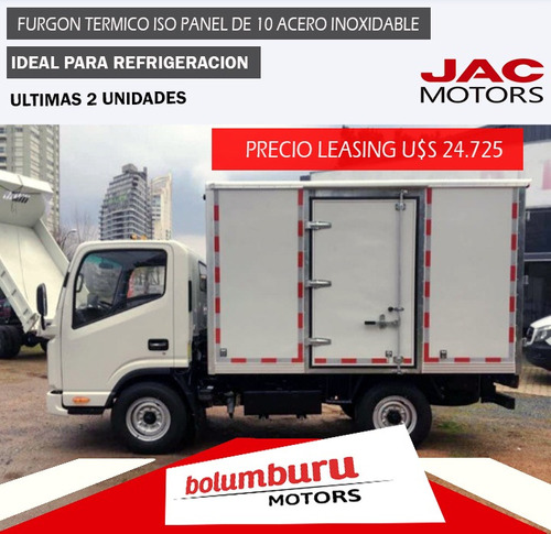 Camion Jac Hfc 1035 Kt Entrega Inmediata Con Furgon Termico