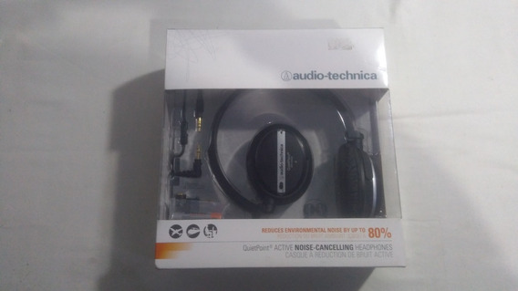 Fone De Ouvido Audio Technica Noice Cancelling Ath-anc25