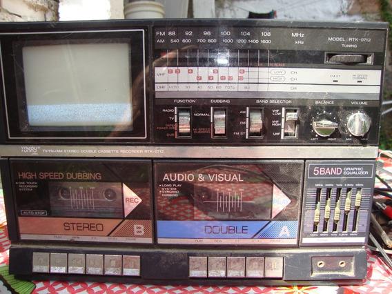 Raro Radio Tokay Rtk-0712 Restaurar Veja Vídeo Sem Caixas