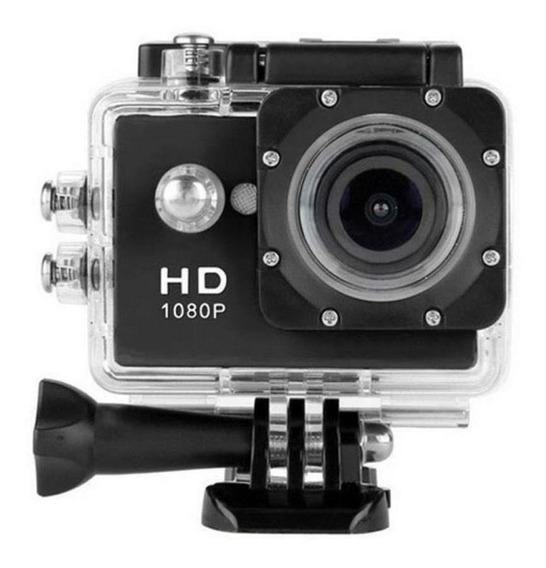 Câmera Filmadora Esportiva - Sports 1080hd - Preta