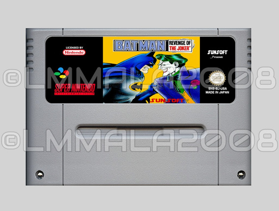 Batman Revenge Of The Joker Ingles Original Nintendo Snes