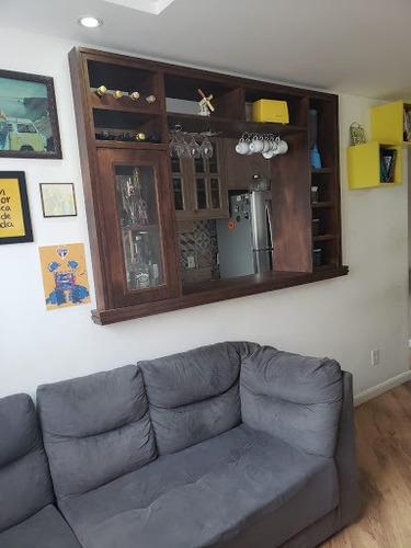 Apartamento Com 2 Dormitórios À Venda, 48 M² Por R$ 205.000,00 - Parque São Vicente - Mauá/sp - Ap0359