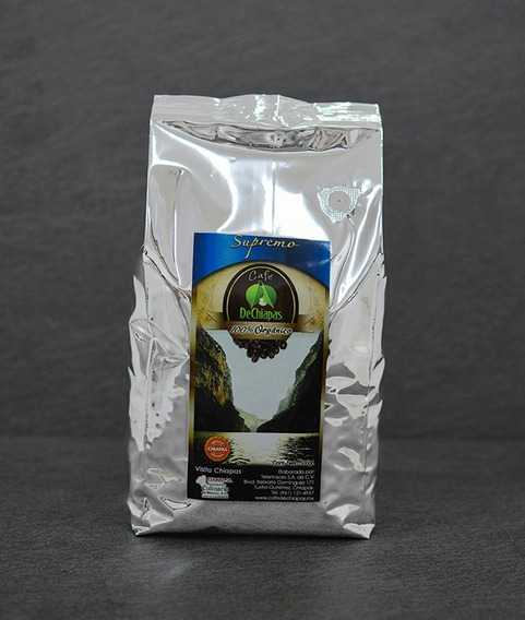 Café Organico De Chiapas Supremo 1000g Molido O En Grano