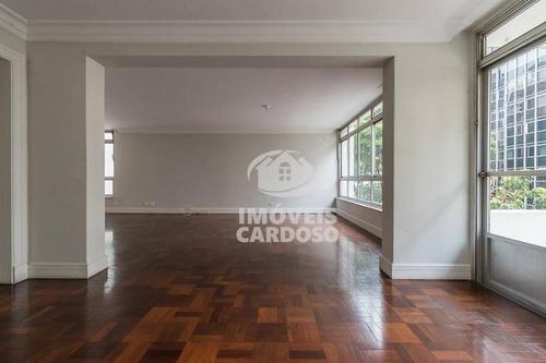 Imagem 1 de 14 de Apartamento Com 3 Dormitórios À Venda, 202 M² Por R$ 1.640.000 - Higienópolis - São Paulo/sp - Ap3422