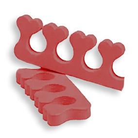 Separador De Dedos Em Formato De Coração C/ 48 Pares - Evama