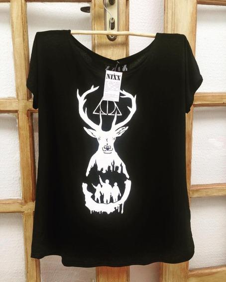 Camiseta/ Baby Look Personalizada - Tema Harry Potter