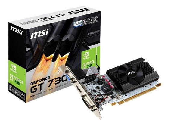 Tarjeta De Video Nvidia Geforce Gt 730 2gb Gddr5 Pci-e Hdmi