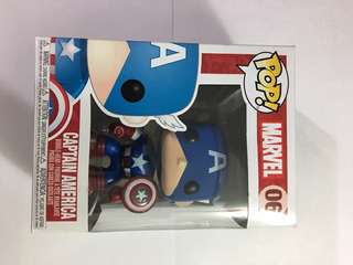 Marvel Capitán América Pop!!