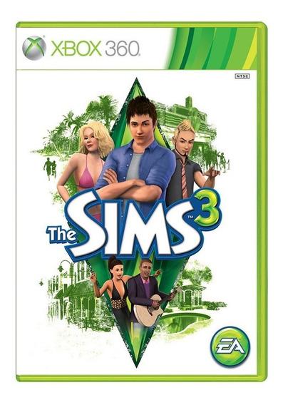 The Sims 3 - Xbox 360 - Usado - Original - Mídia Física