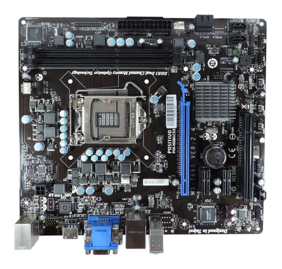 Placa Mãe Pc Positivo Ddr3 Socket 1155 Pos-mih61cf