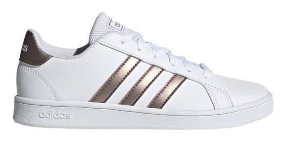Zapatillas adidas Grand Court Base Niños White Lifestyle