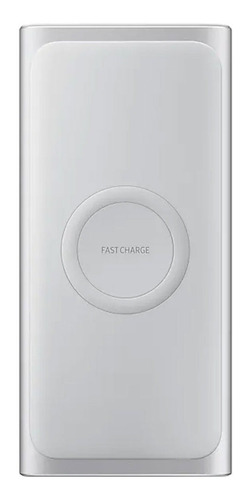Power Bank 10,000mah Wireless Portatil Silver Samsung