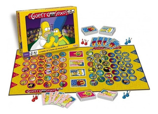 La Guerra De Lo Sexos Simpsons Original Navidad Reyes
