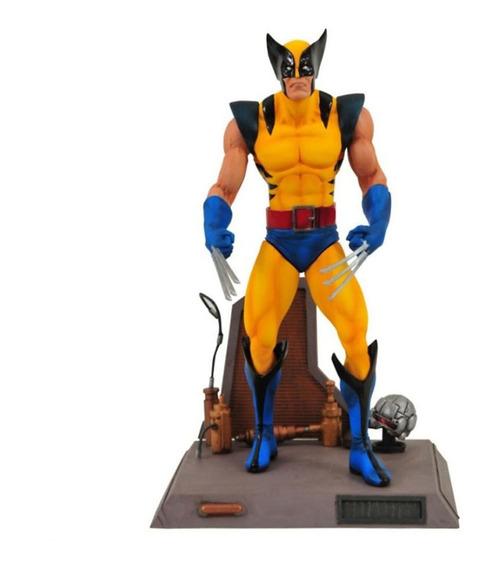 Action Figure Wolverine Marvel Select Diamond Promoção