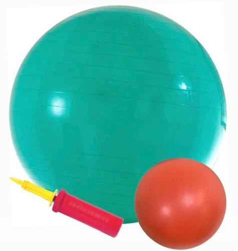 Bola De Pilates (suiça) 55cm + Bomba + Softball