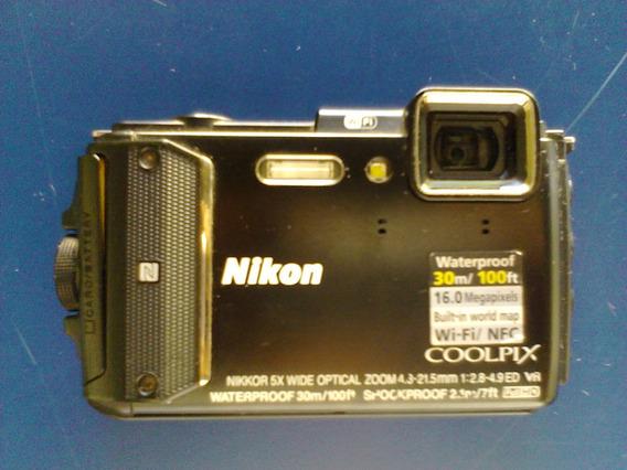 Para Piezas No Enciendecámara Nikon Coolpix Aw130 Sumergible