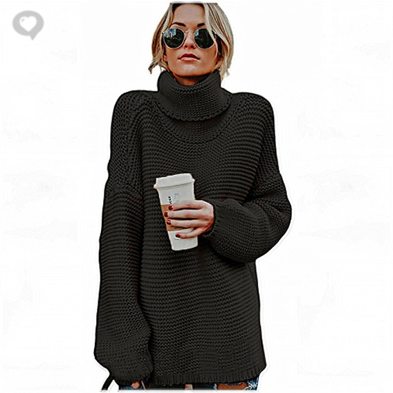 Poleron Largo Maxi Sweater - Art. Patagonia - Espacio De Bellas!