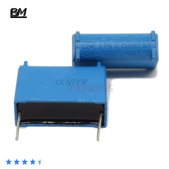 Kit Com 15 Capacitores 5 X 1.0uf + 5 X 1.2uf + 5 X 1.5uf