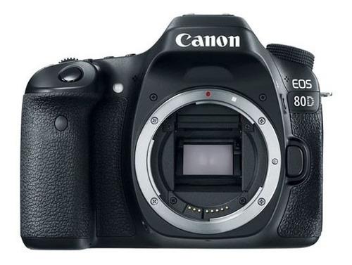 Camara Canon Eos 80d Kit Solo Cuerpo Dslr Reflex Nueva