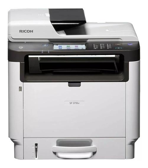 Impressora Multifuncional Ricoh Sp 3710sf Sp3710 3710