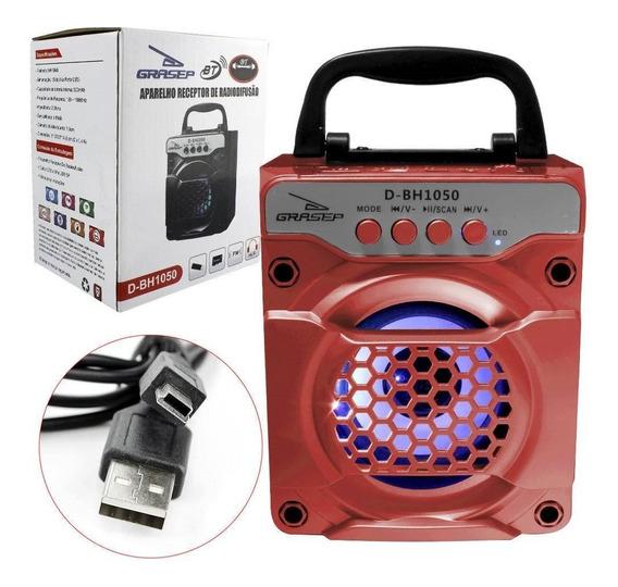 Caixa De Som Bluetooth Grasep D-bh1050