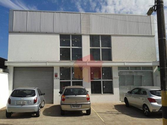 Salão Para Alugar, 230 M² Por R$ 3.000/mês - Parque Novo Mundo - Americana/sp - Sl0069