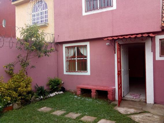 Bonita Casa Con Jardin Y Recamara En Planta Baja