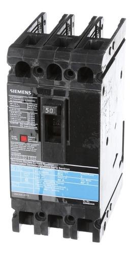 Imagen 1 de 2 de Siemens® Interruptor Electromagnético Ed2 50a Ed23b050mx