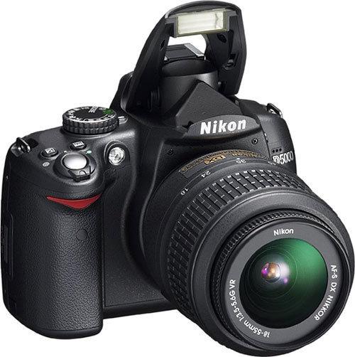 Nikon D5000 Máquina Fotografica Mais Acessórios.