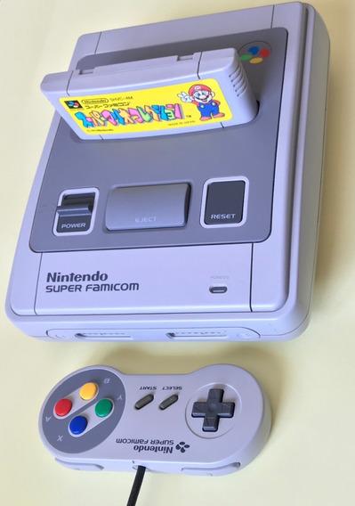 Super Nintendo Japonês + Vide Componente (super Famicom)