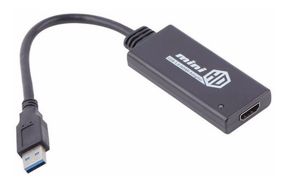 Conversor Adaptador De Vídeo Usb 3.0 P\ Hdmi Full Hd Pc Note