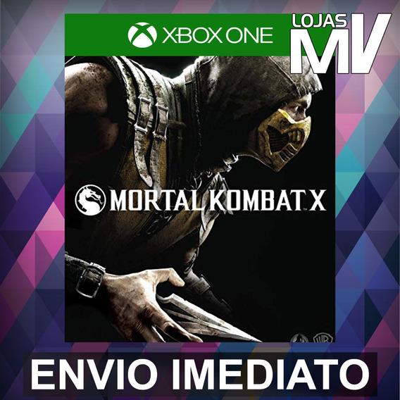Mortal Kombat X Xbox One Código 25 Digitos