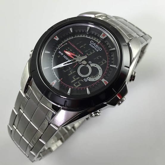 Relógio Casio Masculino Edifice Efa-119bk-1avdr-eclock