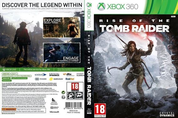 Rise Of The Tomb Raider Game Xbox 360 Digital Licença
