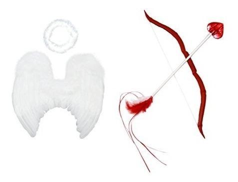 Paquete De Cupido De Bebé Fashionwings (tm): Alas De Ángel D